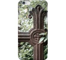 5.9.2014: Cross from Abandoned Cemetary iPhone Case/Skin