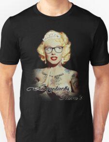 Tatted Monroe Tshirt by Snapbacks & Tiaras Unisex T-Shirt