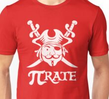 Pi Rate Shipped Unisex T-Shirt