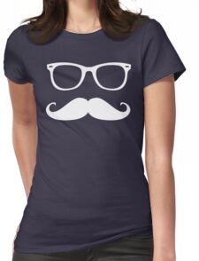 Nerdy and Glassy  Womens Fitted T-Shirt