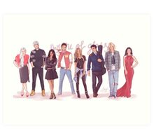 Throne of Glass - Modern day Art Print