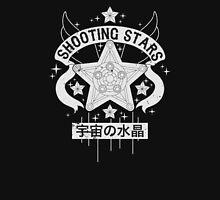 Monochrome Shooting Stars Unisex T-Shirt