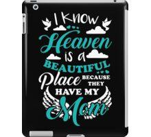 Beautiful Mom in Heaven iPad Case/Skin