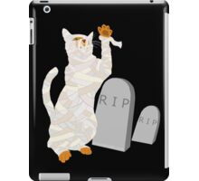 Giant Mummy Cat Monster Cute Horror Cartoon iPad Case/Skin
