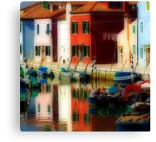 magic burano special Canvas Print