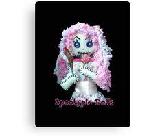 Spookypie Dolls Lollipop Canvas Print