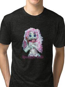 Spookypie Dolls Lollipop Tri-blend T-Shirt