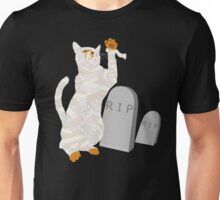 Giant Mummy Cat Monster Cute Horror Cartoon Unisex T-Shirt