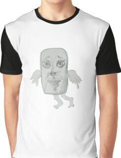 Kissing Angel (Original Drawing by Alice Iordache) Graphic T-Shirt
