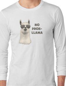 No Problem Llama Long Sleeve T-Shirt
