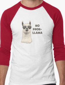 No Problem Llama Men's Baseball ¾ T-Shirt