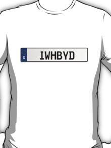 Euro Plate - IWHBYD T-Shirt