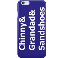 Doctor Nicknames iPhone Case/Skin