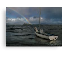 Storm Over Port Nicholson Canvas Print