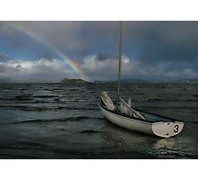 Storm Over Port Nicholson Photographic Print