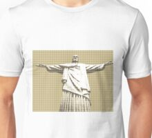 Christ The Redeemer - Gold Unisex T-Shirt