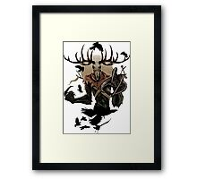 The Witcher - Fiend Framed Print