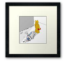 Quasimoto R2D2 Framed Print
