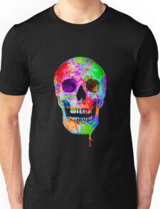Splash Art Skull (Original) Unisex T-Shirt