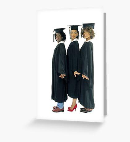 A Different World Graduation  Greeting Card