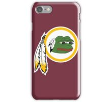 Redskins pepe iPhone Case/Skin