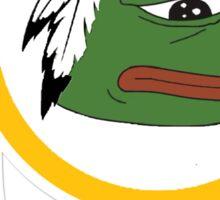 Redskins pepe Sticker