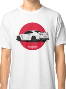 Nissan GT-R (white) Classic T-Shirt