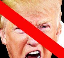 F off Nazi Trump Sticker