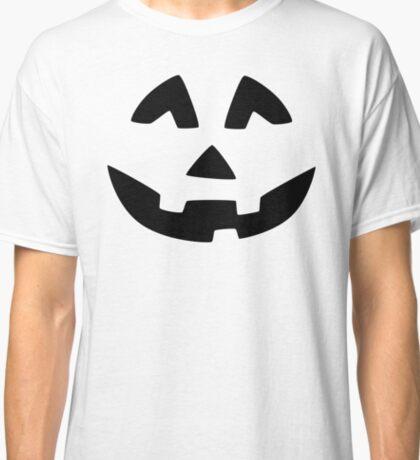 Cute Jack O'Lantern Face Classic T-Shirt