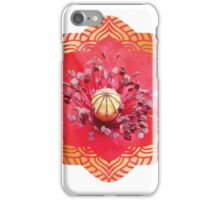 Mysterious poppy iPhone Case/Skin