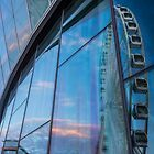 Liverpool wheel reflections by Paul Madden