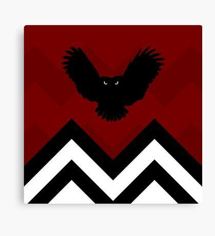 Twin Peaks - Owl Canvas Print