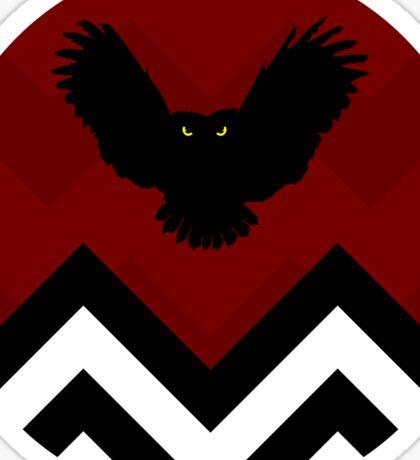 Twin Peaks - Owl Sticker
