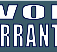 I void warranties Sticker
