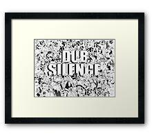 Goodies Dub Silence Drawing Framed Print