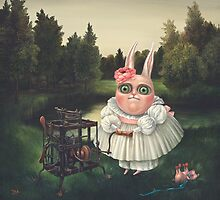 Children's Games-4.  Prints on Premium Canvas. by Irena Aizen