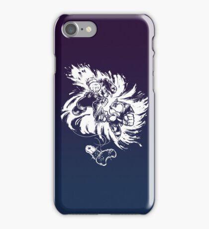 16 Bit Battle (1 Colour) iPhone Case/Skin