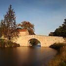 Pigasse Bridge. by Paul Pasco