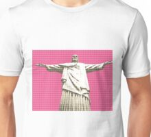 Christ the Redeemer - Pink Unisex T-Shirt