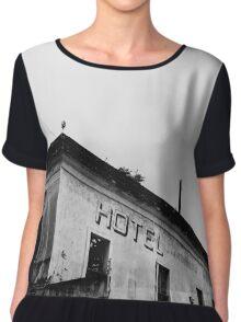 Abandoned Hotel Chiffon Top