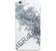 Streaming America Text iPhone Case/Skin