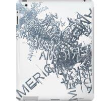 Streaming America Text iPad Case/Skin