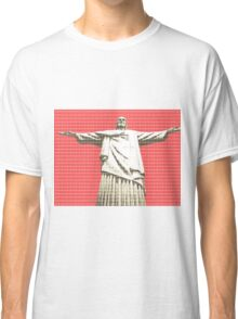 Christ the Redeemer - Red Classic T-Shirt