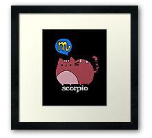 Scorpio T-shirt Framed Print