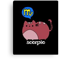 Scorpio T-shirt Canvas Print