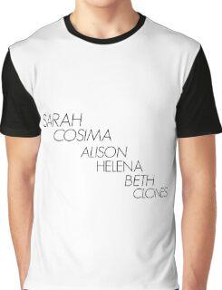 Orphan Black Clones Graphic T-Shirt