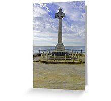 War Memorial, Sandown Greeting Card