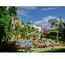 Central Plaza, Portmeirion, North Wales, UK Photographic Print