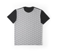 Playstation Buttons - Black on White Graphic T-Shirt
