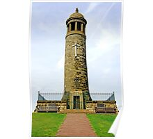 Crich Memorial Tower Poster